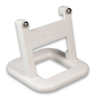 Stand for Hive Thermostat v2 with Mounting Screws - White Sloped P3D-Lab