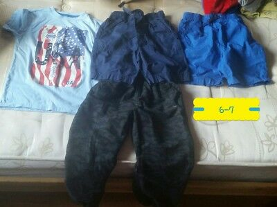 boys age 6-7 mixed bundle tops trousers