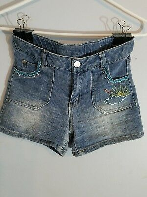 Brand New Kids Size 14 Canyon River Blues Fun Jean Shorts