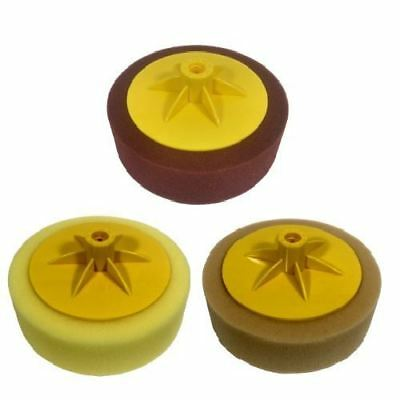 Pro-Max 3pc Car Polishing Buffing Sponge Set For Car Sander Polisher