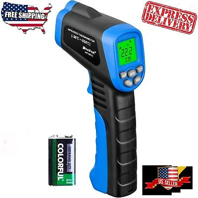 NonContact Temperature Gun Digital Temp Meter Infrared IR Laser Thermometer NEW