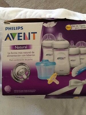 Philips Avent Natural BPA Free Newborn Baby Bottle Starter Set,