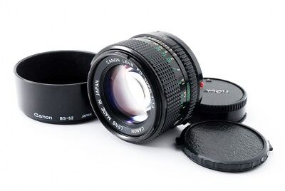 Canon New FD NFD 50mm f/1.4 MF Prime Lens [Exc+++] w/Hood(BS-52) From Japan[926]