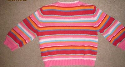 Child's sweater Hanna Andersonn 100% cotton Size 100,perhaps a 3T or 4T