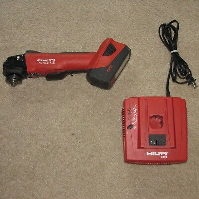 Hilti AG-500 A18 Cordless Brushless Grinder w/ battery cut-off tool