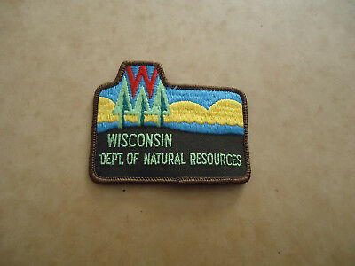 Wisconsin Department of Natural Resouces Patch