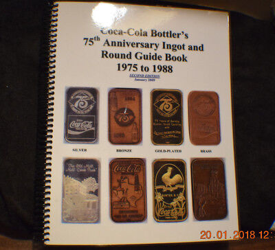 2nd Edition Coca Cola Silver and Bronze Art Bar Guide Book by Thomas Mock