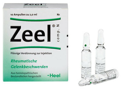 Heel Zeel comp.N Homeopathic Rheumatic Joint Complaints - 10 Ampoules