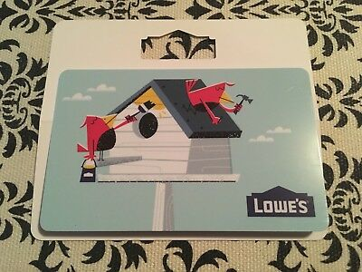 $200 Lowe's / Lowes Gift Card ~ FREE Overnight Shipping (UPS)