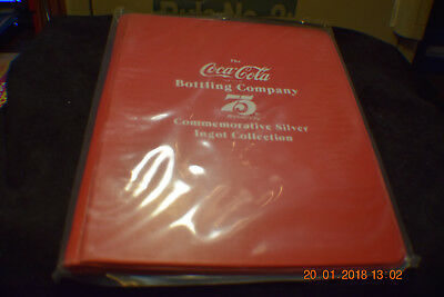 Coca Cola 75th Anniversary Art Bar Collection Holder......holds 48 bars!