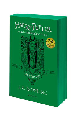 Harry Potter and the Philosopher's Stone - Slytherin Edition (Format:Paperback)
