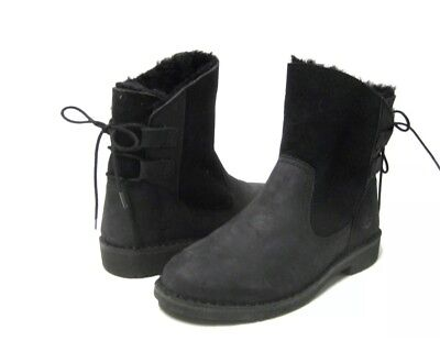 f8f2c63e976 UGG AUSTRALIA WOMEN Naiyah Pencil Lead Black Boots 1016850 Sz 6.5 New