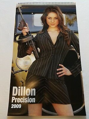 "DILLON Precision 2009 Calendar - Girls & Guns Calendar - 13.5"" x 23"""