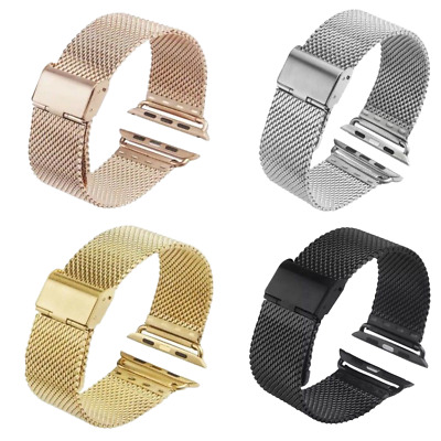 38/42mm Metal Magnetic Stainless Steel Wrist Band Strap For I Watch Apple Watch