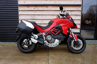 Ducati Multistrada 1200s Touring with DVT engine