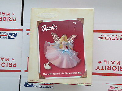 Barbie Swan lake Christmas ornament