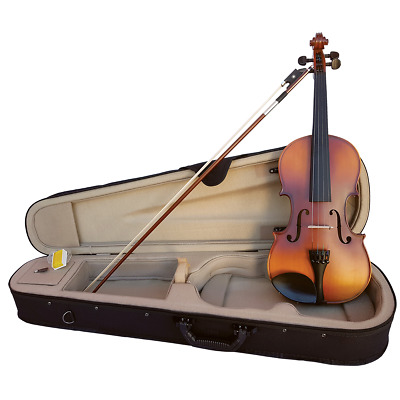 SZ Sarasate Student Violin Outfit with Thomastik String upgrade and Professio...