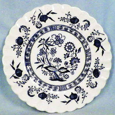 """Meakin, Blue Nordic, Classic White,6 7/8"""" Salad/dessert Plate (1) (8 Avail)"""