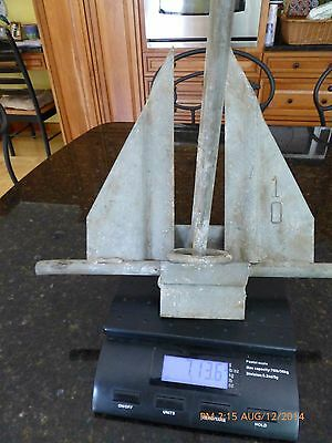 Marine Boat Anchor Galvanized Steel  Nautical For Boats 7 Lbs +