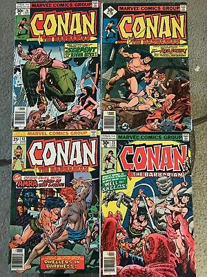 Conan the Barbarian #63, 73, 74, 78 Look!