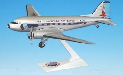 Fly Eastern Air Lines Douglas DC-3 Plastic Snap Display Model 1:100 Scale