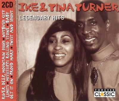 IKE & TINA TURNER - Legendary Hits (1999) 2-CD FATBOX Best of.Greatest 32 Tracks