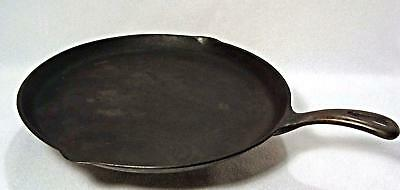 Vintage Griswold Cast Iron Skillet Griddle #109 P/n 202D Erie Pa*small Logo*wow!