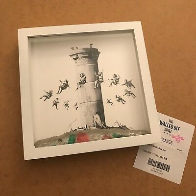 Banksy - Walled Off Hotel Box Set (with receipt)