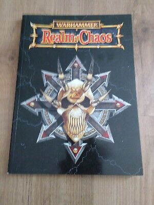Games Workshop Warhammer Realm of Chaos book