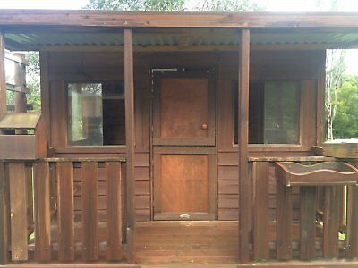 Aarons Outdoors Cubby House