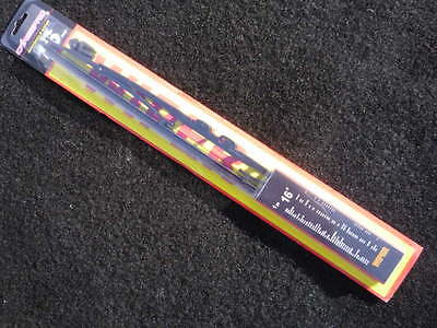 """PACK of TWO 16"""" Graphited Rubber All Season Wiper Blades (also fits back window)"""