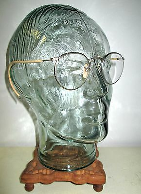 Antique American Optical Ful Vue Safety Glasses Spectacles AO Old Vtg Retro