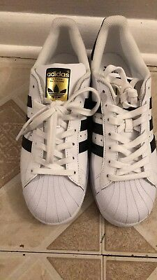 7a81abdc5129 ADIDAS SUPERSTAR SHOES Men s White 11.5 WORN ONCE! -  45.00