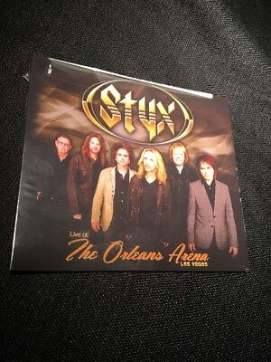 Styx - Live At The Orleans Arena Las Vegas [CD New] Free Shipping