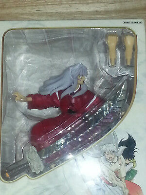Inuyasha  with Tetsusaiga Adamant Barrage Technique Collector's Figurine (rare)