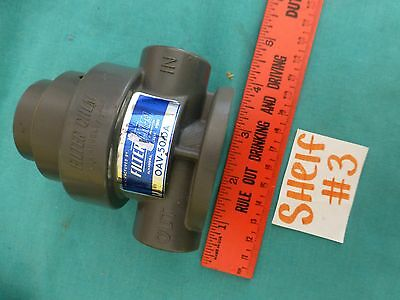 Filter Chem PVC One Way Air Operated Valve  OAV-50-DA