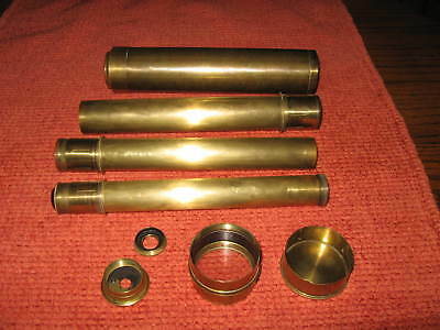 VINTAGE  32 INCH Vintage SPYGLASS TELESCOPE  ( with original cover)