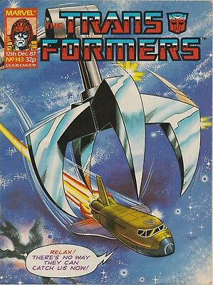 The Transformers #143 Marvel UK (1987) British Weekly Comic