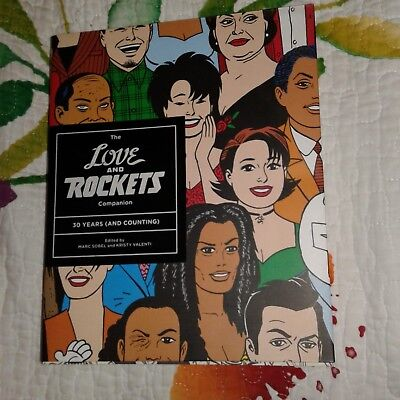 Love and Rockets Companion Hernandez Bros Fantagraphics Indie Comix Jaime