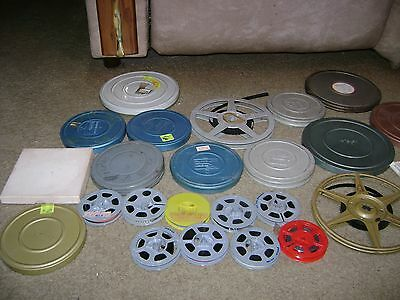 Vintage 8mm Film Home Movies....1960's/1970's....29 In Total