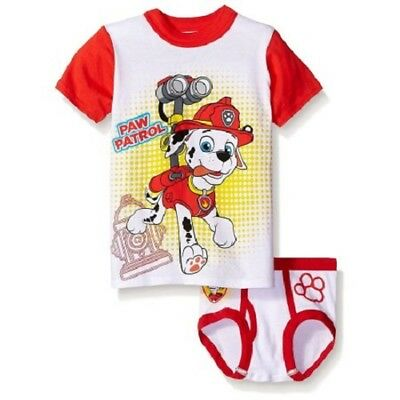 Nickelodeon Paw Patrol Underwear & T-Shirt Set - New With Tag Size 4T