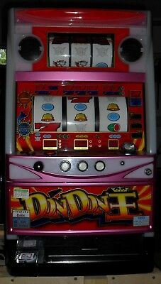 Pachislo Don Don King 6 Reel Slot Machine / 200 Tokens / 285 Pg Manual