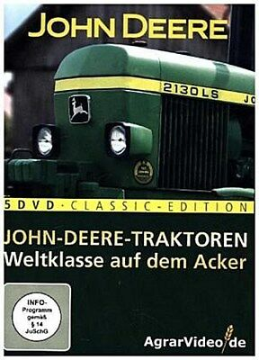 Die 5 DVD John-Deere-Box AgrarVideo