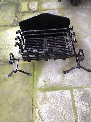 Iron Fire Grate Dog Basket