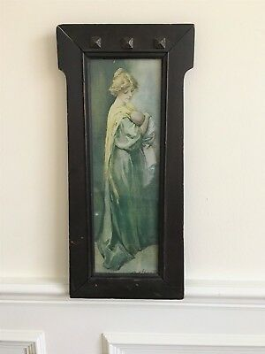 Antique Art and Crafts / Mission Style Wood Frame, Unique, Rare