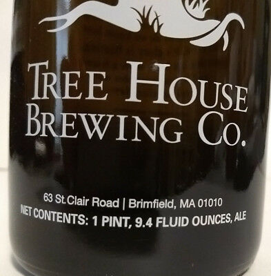 Tree House Brewing 750ML Growler with Brimfield Address