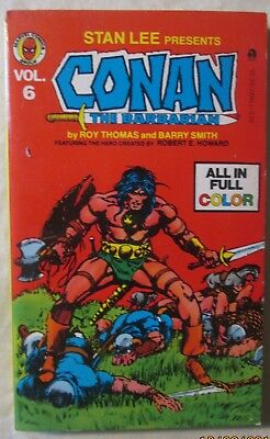 Stan Lee Presents the Complete Conan The Barbarian Volume 6 1978 FREE SHIPPING