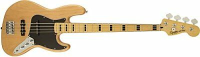 Squier / Vintage Modified Jazz Bass 70S Natural Squire Electric Bass