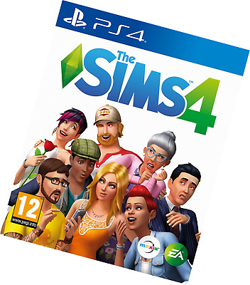 The Sims 4 (PS4) BRAND NEW SEALED UK OFFICIAL