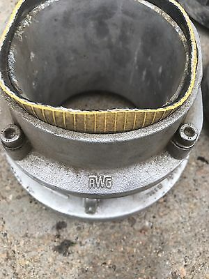 "Lot Of Two 5"" Storz Fire Hose Fitting"